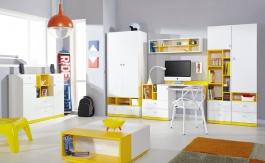 Detská/Študentská izba Moli A - výber farieb