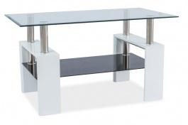 Konferenčný stolík LISA III - biely lak