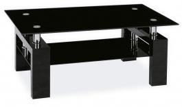 Konferenčný stolík LISA II - čierny lak