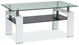 Konferenčný stolík LISA II - biely lak