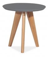 Konferenčný stolík MILAN S1 sivý