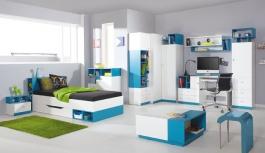 Detská/Študentská izba Moli B - výber farieb