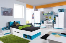Detská/Študentská izba Moli C - výber farieb