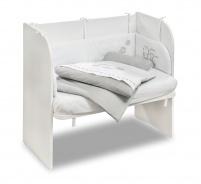 Prístavná postieľka k posteli Lola 46x80cm - biela