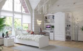 Rustikálna detská izba Juliet - biela