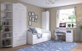 Detská izba v rustikálnom štýle Juliet - biela