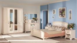 Spálňa Annie II - dub provence biela