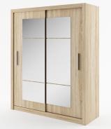 Šatná skriňa IDEA 02 sonoma zrkadlo 180 cm