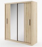 Šatná skriňa IDEA 03 sonoma zrkadlo 180 cm