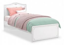 Detská posteľ Betty 100x200cm - biela/šedá