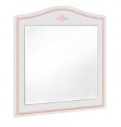 Zrkadlo ku komode Betty - biela/ružová
