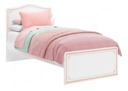 Detská posteľ Betty 100x200cm - biela/ružová