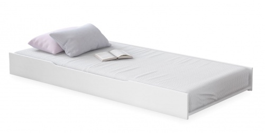Výsuvné lôžko pod posteľ Ballerina - biela