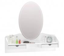 Zrkadlo ku komode Ballerina - biela