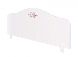 Zábrana k posteli Ballerina - biela