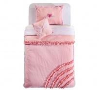 Prikrývka cez posteľ 90-100cm Ballerina - ružová