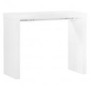 Jedálenský stôl Lilly - biely
