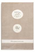 Detský kusový koberec 120x180cm Chloe - krémová/biela