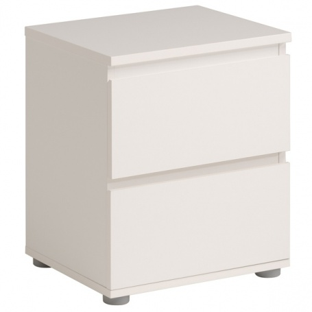 Nočný stolík Magic 2 - biela
