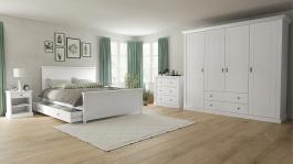 Spálňa Casandra - biela