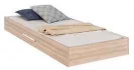 Zásuvka 90x190cm k posteli Veronica - dub svetlý/biela