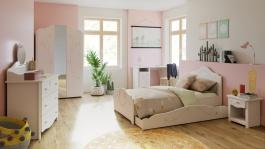 Detská izba pre dievčatá Harmonia - biela