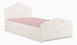 Detská posteľ so zásuvkou Harmonia 90x200cm - biela