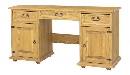 Písací stôl z dreva BIK 05 sedliacky-výber morenia