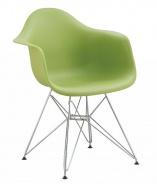 Jedálenská stolička - kreslo REGIA zelená