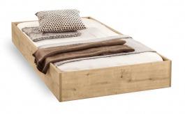 Zásuvka pod posteľ Cody 90x190cm - dub svetlý