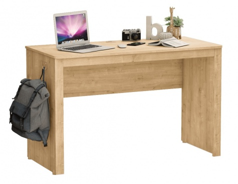 Jednoduchý písací stôl Cody - dub svetlý
