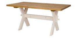 Drevený sedliacky stôl 100x200cm MES 16 - výber morenie