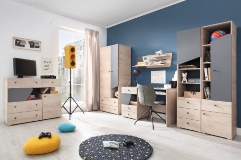 Detská izba Gama C - dub/antracit