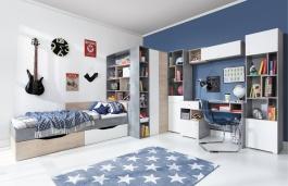 Detská izba Omega A - výber odtieňov