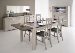 Prídavná doska k jedálenskému stolu Lordo - dub sivý
