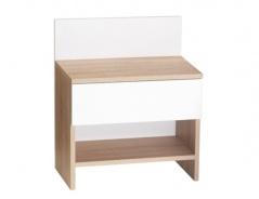 Nočný stolík Sebi - výber odtieňov