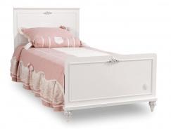 Detská posteľ 100x200cm Ema - biela