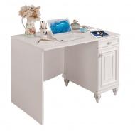 Písací stôl Ema - biela