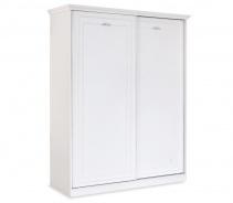 Šatníková skriňa s posuvnými dverami Ema - biela