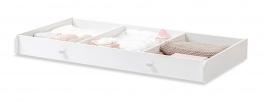 Zásuvka do postieľky pre bábätko Ema 70x140cm - biela