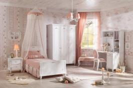 Dievčenská izba Ema - biela