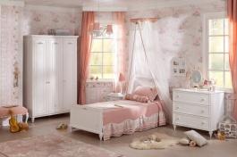 Malá detská izba Ema - biela