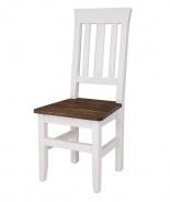 Masívne jedálenská stolička SKN 04 - výber morenia
