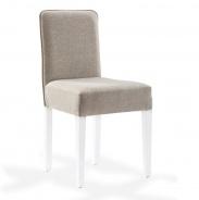 Čalúnená stolička Mary - béžová