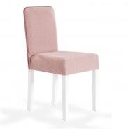 Čalúnená stolička Mary - ružová