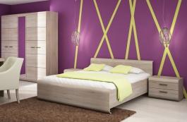 Zostava spálne LINK son (skriňa, posteľ, 2 nočné stolíky)