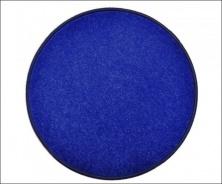 Eton tmavo modrý koberec guľatý