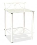 Nočný stolík ET-920 biely