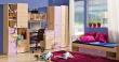 Detská izba Melisa v prevedení jaseň/fialová