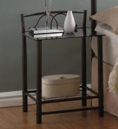 Nočný stolík VD-930 čierny
